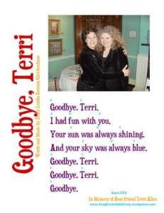 goodbye terri by eleg