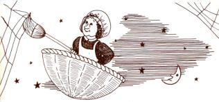 old woman tossed basket wee sing - Copy