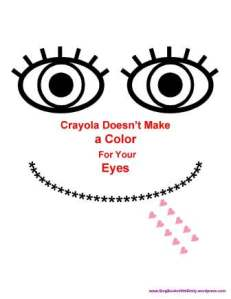 crayola doesn't make a color coloring page only