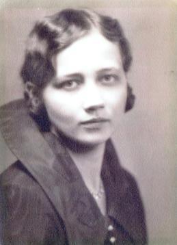 Grace Evangelyn Morgan Everson DePauw U 1920s
