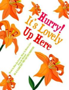 hurry it's lovely up here illustrated song 4 sbwe cover only