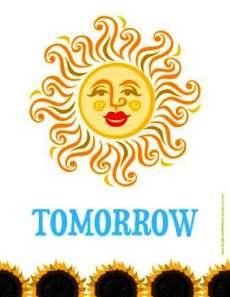 tomorrow sbwe poster
