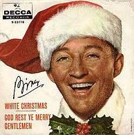 white christmas single sleeve bing crosby
