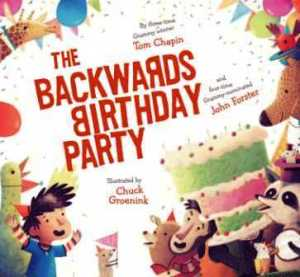 backwards birthday party
