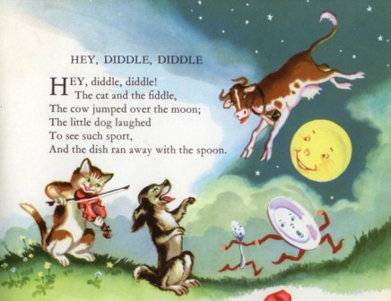 Image result for hey diddle diddle poem