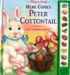 play-a-song here comes peter cottontail