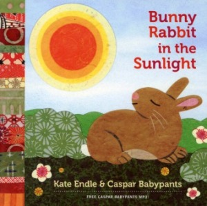 bunny rabbit in the sunlight endle babypants