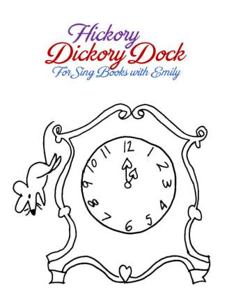 hickory dickory dock book cover only