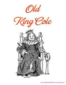 old king cole book for sbwe cover only