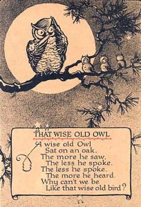 wise old owl 2
