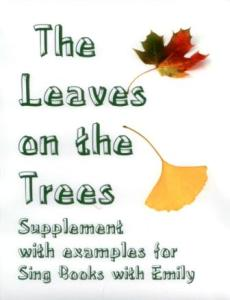 Leaves on the Trees SBWE cover only