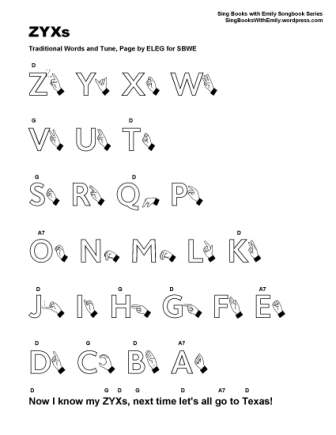 Zyxs An Illustrated Song Sing Books With Emily The Blog