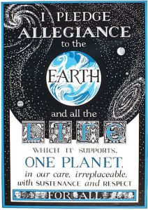 EARTH PLEDGE poster Janina Lamb2