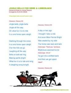 Jingle Bells 4 SBWE limberjack