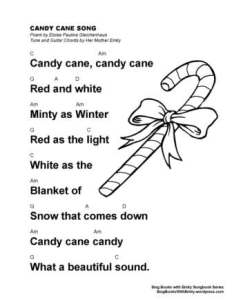 SBWE SBS Candy Cane w chords