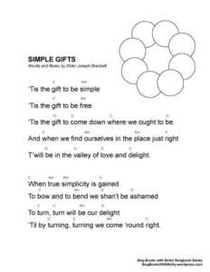 SBWE SBS Simple Gifts w chords