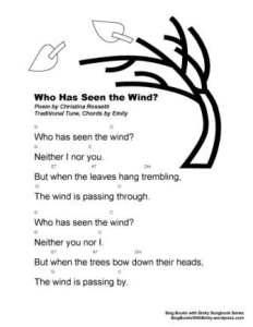 SBWE SBS Who Has Seen the Windw chords
