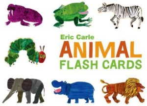 eric carl animal alphabet flash cards