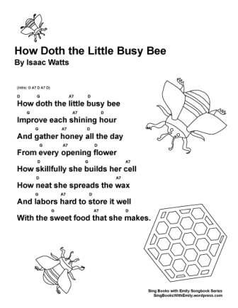 SBWE SBS how doth busy bee
