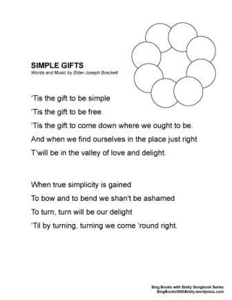 SBWE SBS Simple Gifts no chords