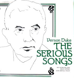 vernon duke the serious songs