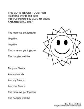 More We Get Together (SBWE) no chords