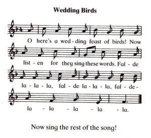 wedding birds tune (german folk song, Jutta Ash)
