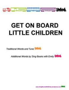 get on board book SBWE cover only