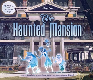 haunted mansion disney illustration