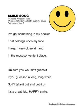 Smile Song no chords SBWE