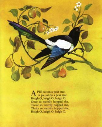 pie sat on a pear tree johnstone - 2