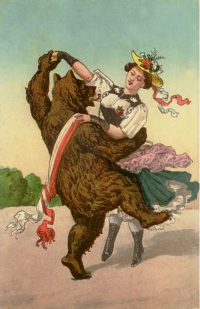 1913 dancing w bear bern - Copy - Copy