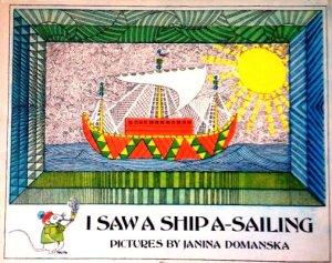 I saw a ship a-sailing Domanska, Janina