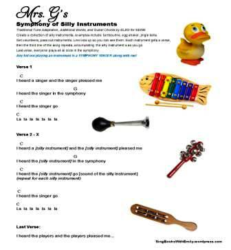 Symphony of Silly Instruments for SBWE