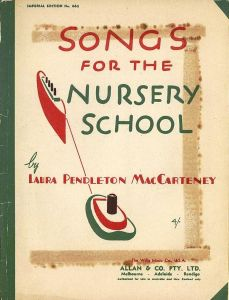 songs for the nursery school cover