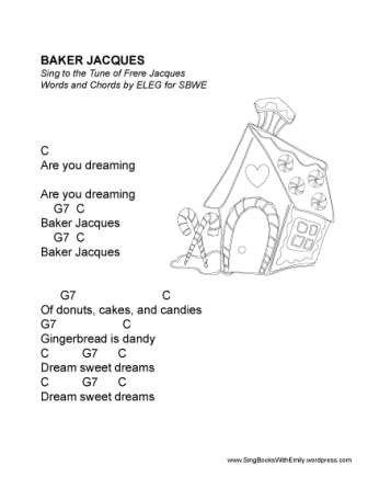 baker jacques SBWE w chords