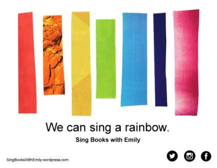 We can sing a rainbow ELEG SBWE