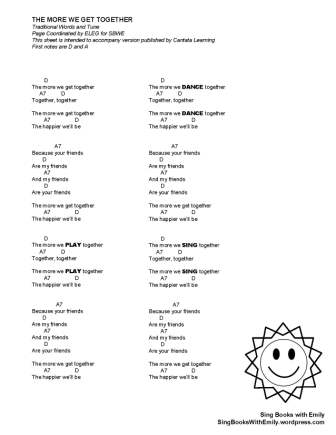 The Illustrated Songs We Sang 529 To The End Of The School Year