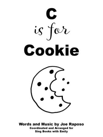 C is for Cookie sing along book (for SBWE) cover only