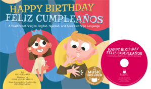 HAPPY BIRTHDAY SONG (in Illustrated Song) | Sing Books with Emily