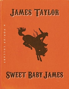 sweet baby james pop up book