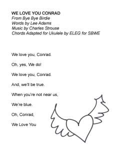 We Love You Conrad SBWE (no chords)