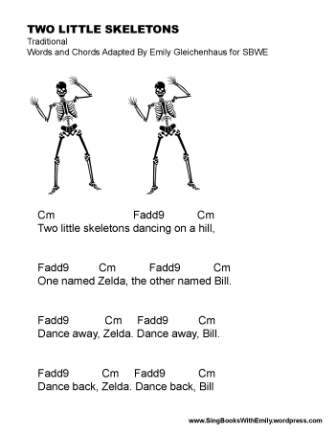 two little skeletons SBWE w chords