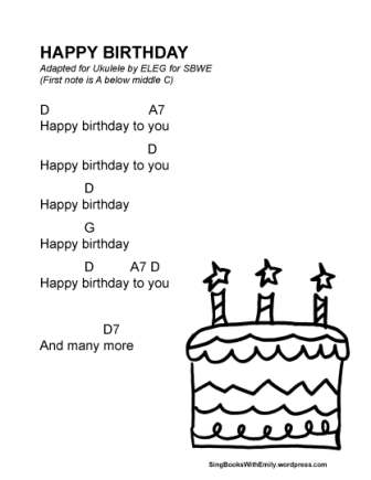 HAPPY BIRTHDAY SONG (in Illustrated Song) | Sing Books with