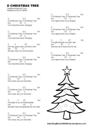 O Christmas Tree for SBWE w chords