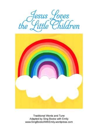 Jesus Loves the Little Children SBWE book cover