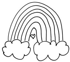 rainbow cloud heart eleg bw drawing orig - Copy smaller