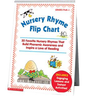 nursery rhyme flip chart image