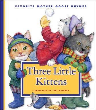 three little kittens weidner