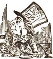 mad hatter tenniel profile